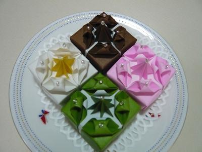 クリスマス 折り紙 折り紙 ケーキ : terutamago.blog.so-net.ne.jp